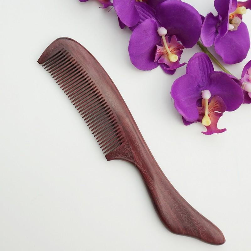 百年许氏浪漫紫罗兰木梳