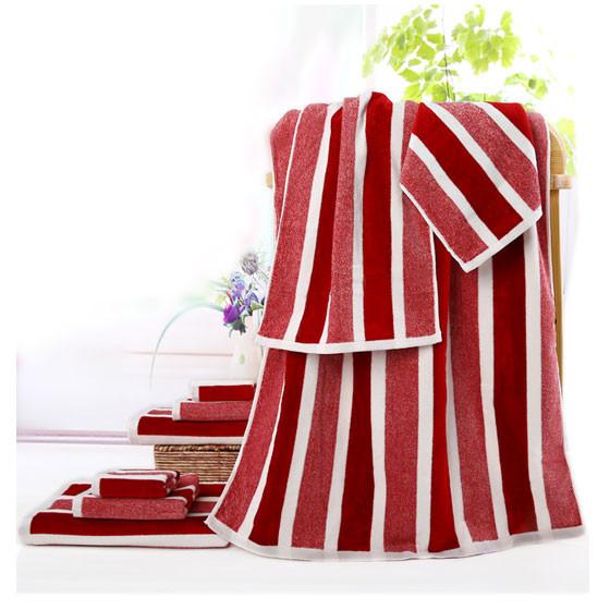 洁玉三件套JY-7057毛方浴巾