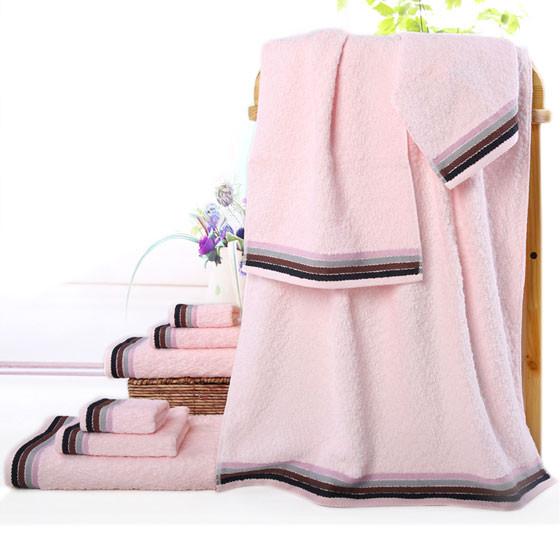 洁玉三件套JY-9059毛方浴巾