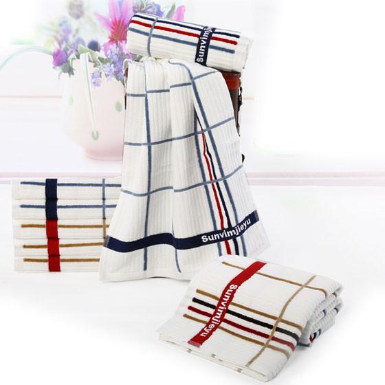 洁玉四条装JY-7043F毛巾
