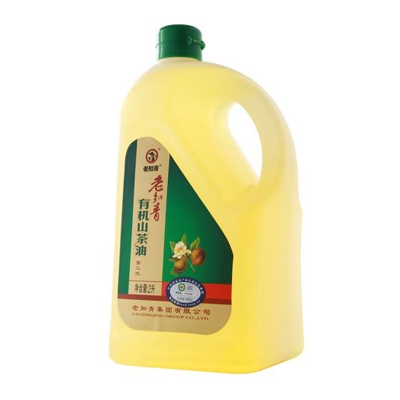 老知青有机山茶油2L(一级 物理冷压榨)