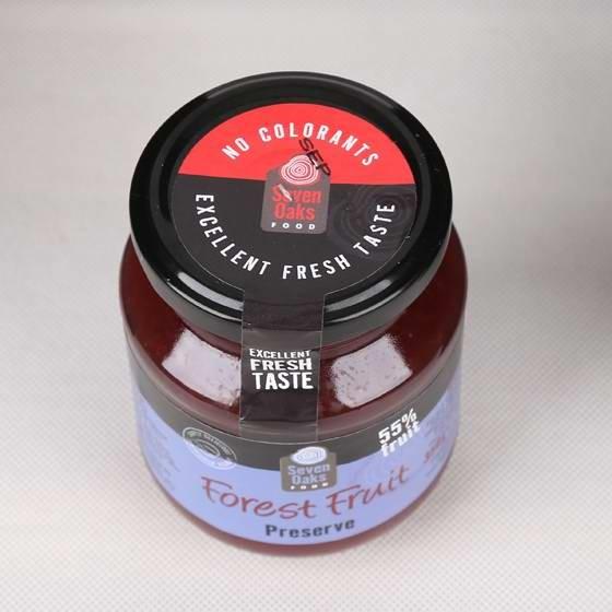 西班牙原装进口橡木林森林水果混合果酱350g*4罐