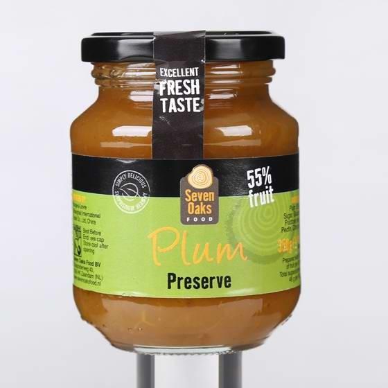 西班牙原装进口橡木林杏肉果酱李子果酱组合装350g*4罐