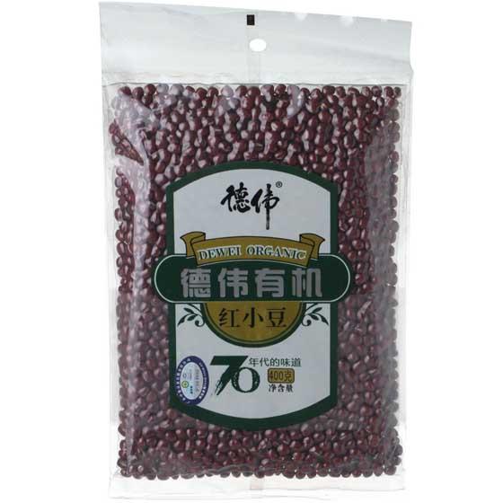 德伟有机红小豆400g