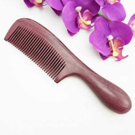 百年许氏紫罗兰木梳-如花盛开