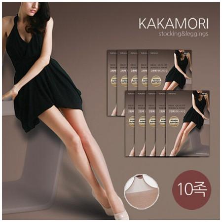 海外购韩国KAKAMORI丝袜10双