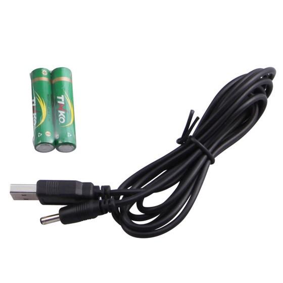 [攀高] 按摩眼镜(USB接口,电池)PG-2404B 白色