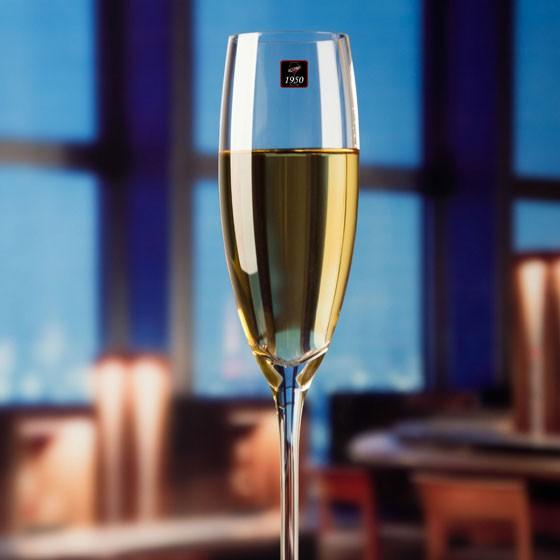 1950 手工吹制香槟杯(186ML)水晶红酒杯2支盒装