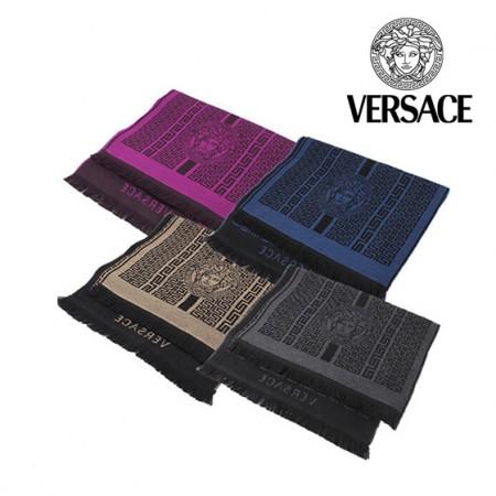 海外购意大利范思哲100%羊毛围巾(仅灰色和棕色)