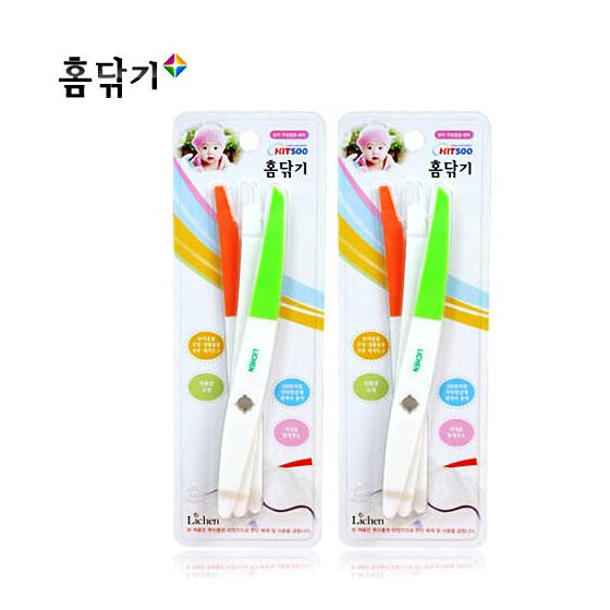 海外购韩国LICHEN缝隙清洁工具套装2件