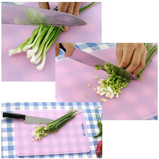 海外购韩国SILICOOK硅胶软性抗菌菜板