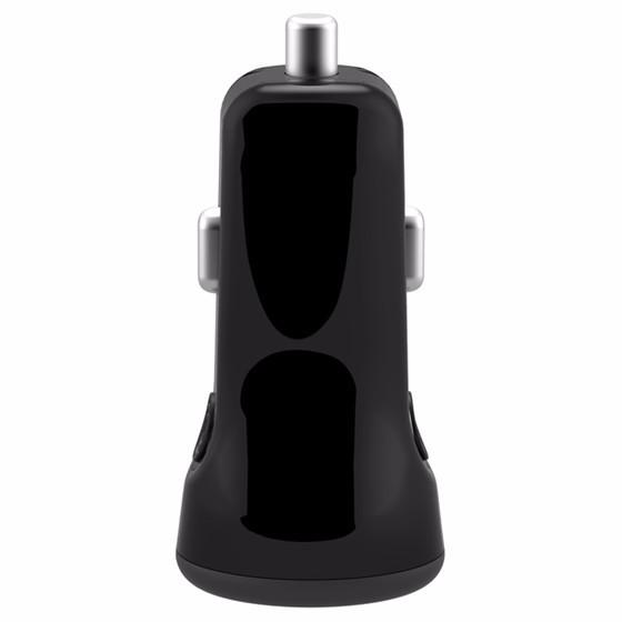 倍思充动系列CCALL-CR0Y 双USB运动车充 黑色