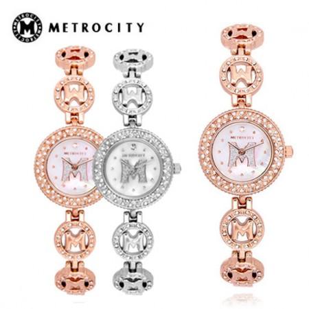 海外购METROCITY手链式手表MTM1501特卖