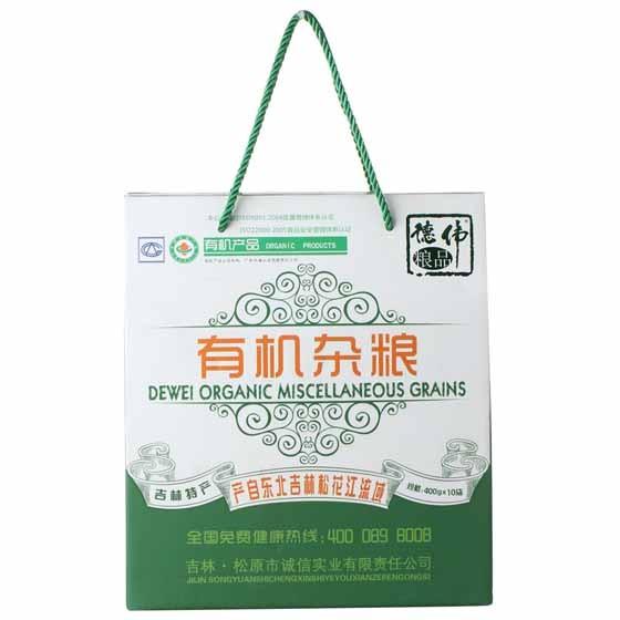 【德伟】有机杂粮礼盒套装4kg 10袋