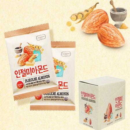 海外购韩国进口米糕混合坚果20g*10袋
