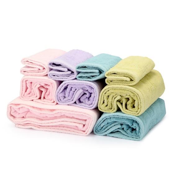 姬龙雪原装进口毛巾套组(面巾4+手巾4条+浴巾1条+毯子1条)