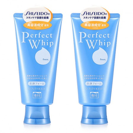 海外购日本资生堂Shiseido洗颜专科洁面乳 120g*2
