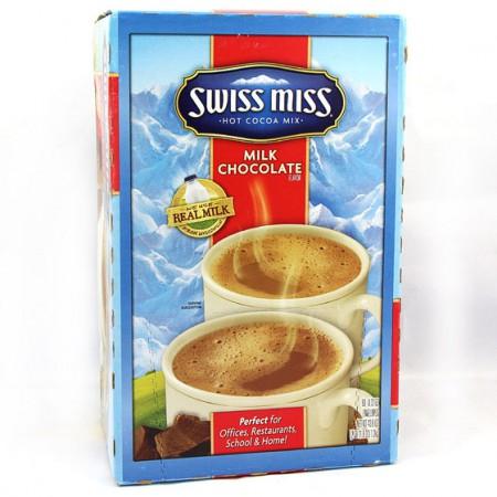 海外购美国瑞士小姐混装热巧克力粉 20G*60