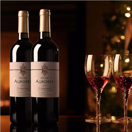法国奥罗拉国王 干红葡萄酒·12瓶