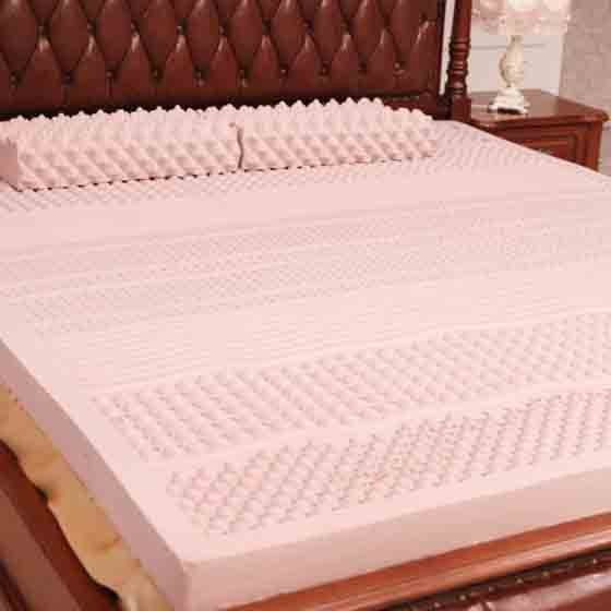 舒睡康 七区负离子7.5cm乳胶床垫1.5米