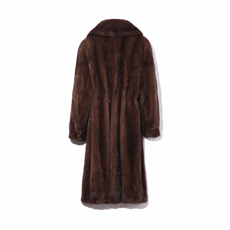 索娜斯雍容华贵进口整貂长款大衣·女