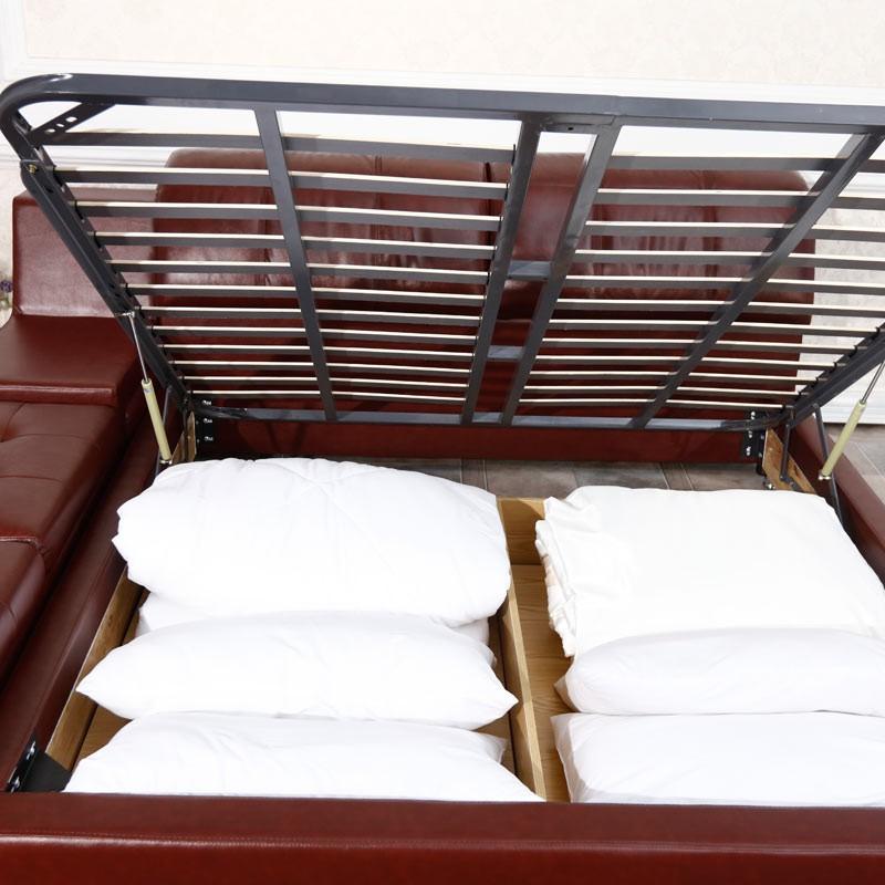 帕格尼莱茵河畔皮艺软床1.8米