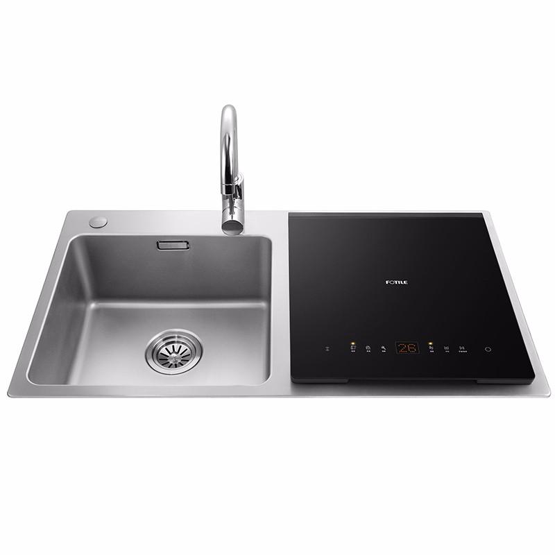 方太跨界三合一水槽洗碗机尊享组