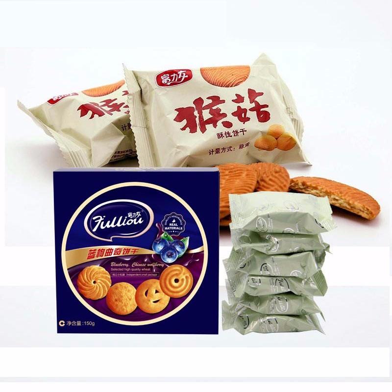 富力友猴菇蓝枸饼干14盒装