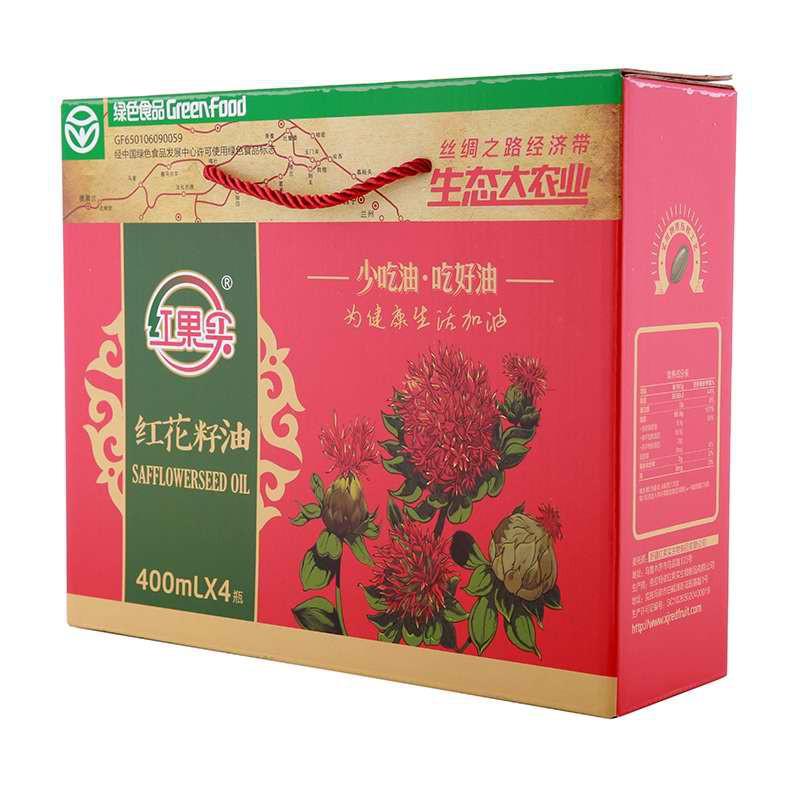 新疆红果实红花籽油健康组