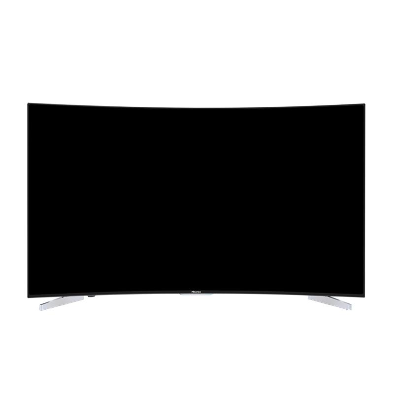 海信55英寸4K超高清曲面电视人工智慧语音LED55E7CY