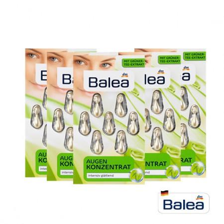 德国BALAE 芭乐雅眼部护理绿茶精华5盒装共35粒·绿色海藻