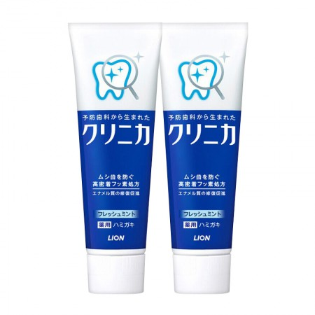 保税区直发 日本LION狮王酵素洁净薄荷牙膏 130g·2件组