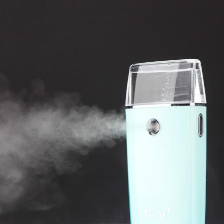 ZUANJ钻技 纳米喷雾补水仪可当充电宝两用·蓝色