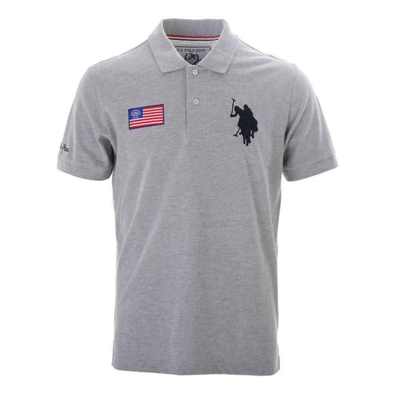 美国U.S.POLO ASSN.夏日经典男士POLO衫