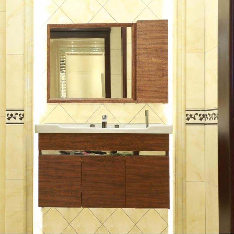 诺肯新款不锈钢浴室柜套组(100cm)