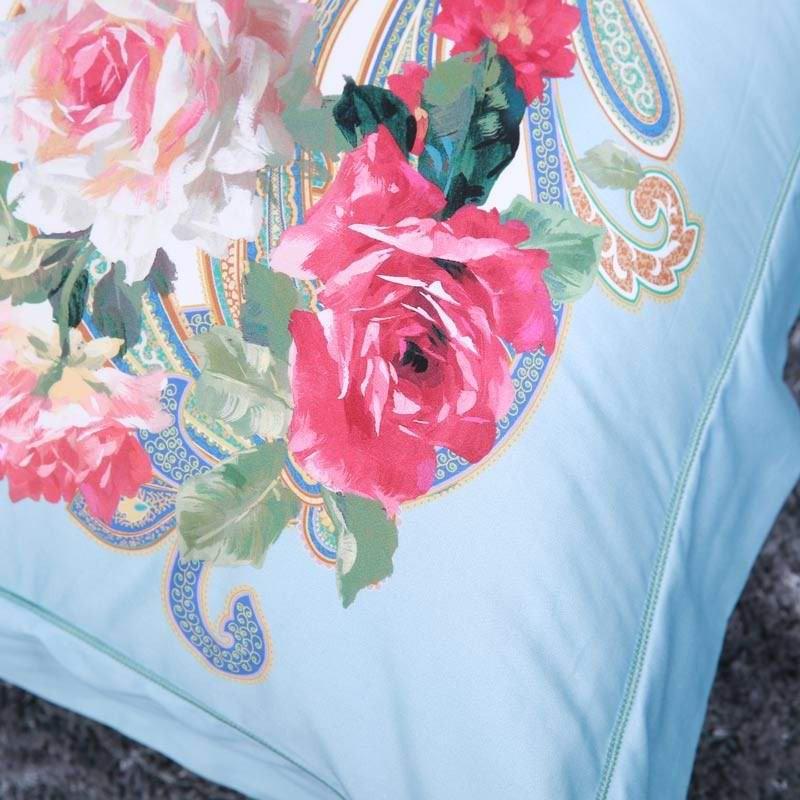 美国perfect-fit匹马棉高档别墅区定制款床品件套·橄榄绿~