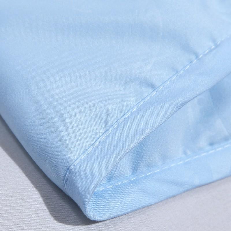 【富安娜出品】馨而乐清爽压花水洗空调被·蓝色
