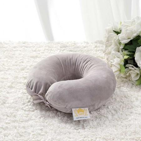 泰嗨泰国整只原装进口天然乳胶U型枕·灰色