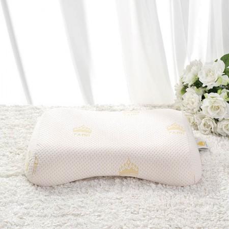 泰嗨 泰国整只原装进口天然乳胶美容平面枕