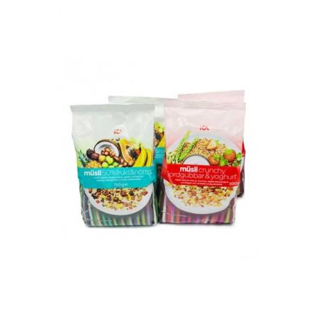 特价 ICA草莓酸奶2包+ICA50果仁混合燕麦片2包(10月3日到期)