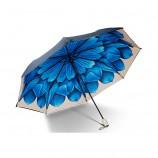 BANANA UNDER蕉下小黑伞雨伞双层彩胶防紫外线太阳伞【迪丽热巴同款】洛荷