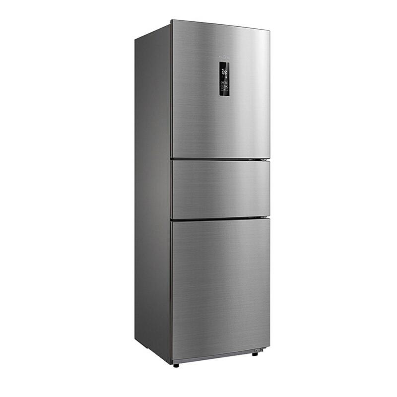 Midea/美的 三门风冷无霜电冰箱258L BCD-258WTM(E)·银色