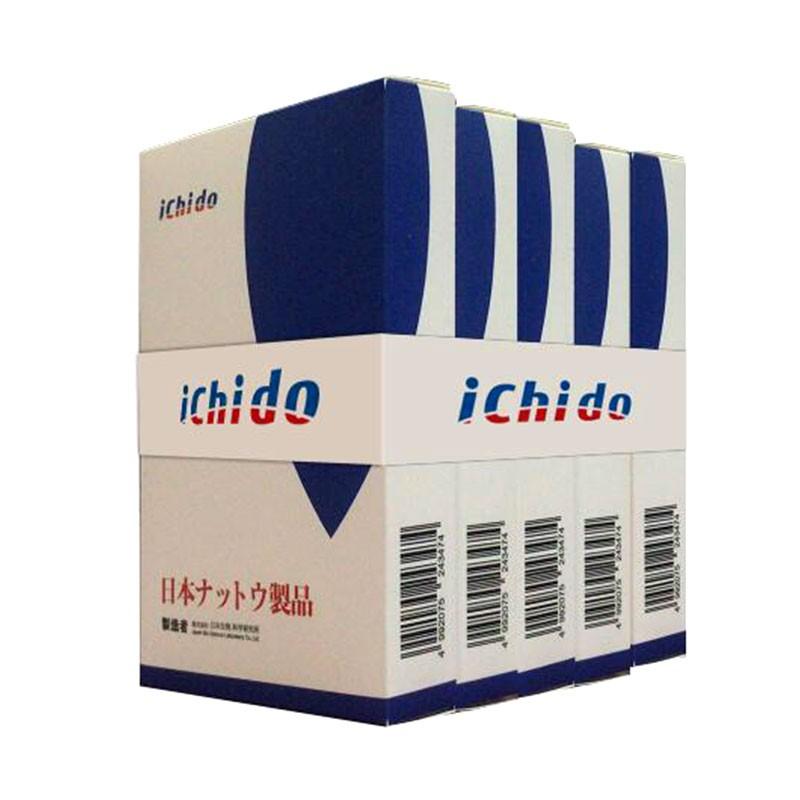 日本原装进口Ichido纳豆胶囊18盒装