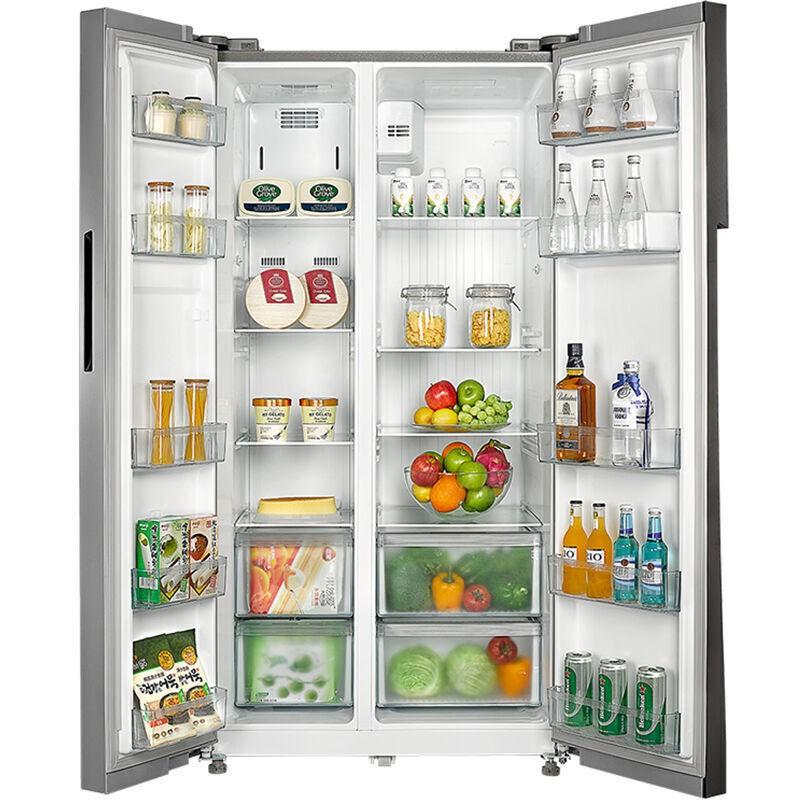 美的 对开门节能风冷电冰箱 520L BCD-520WKM(E)·金色