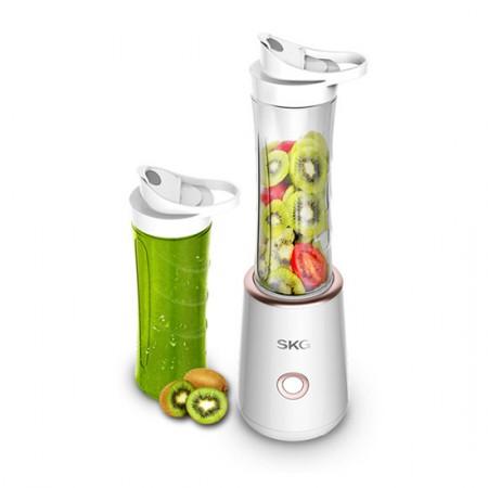 SKG 便携式榨汁机家用 多功能奶昔水果汁机 2098·2098白色
