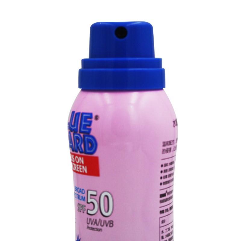 蓝蜥蜴水嫩防晒乳喷雾3瓶赠晒后修复芦荟胶