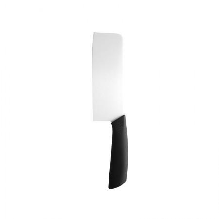 超薄刀身 白色斜磨 纳米陶瓷刀6.5寸中式菜刀