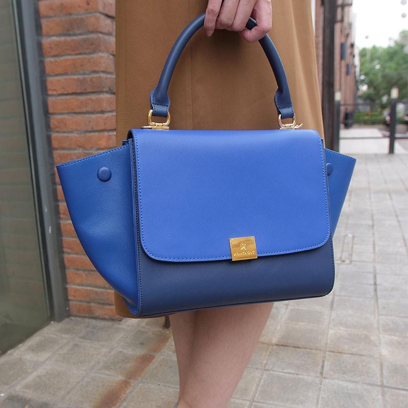 梦特娇时尚百变女包·蓝色