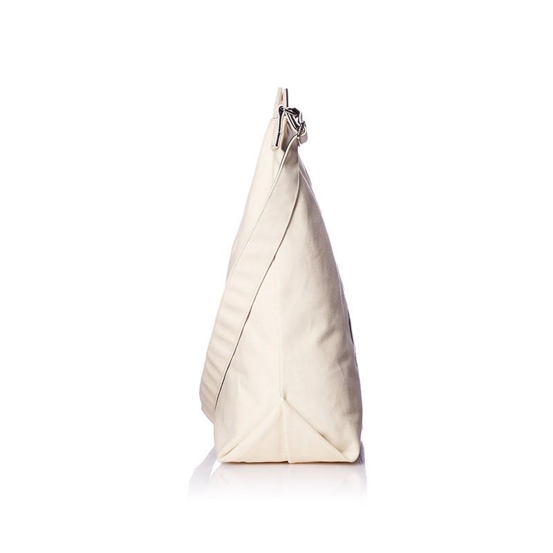 日本直邮 anello 2WAY 反色商标2用大手提包/单肩挎包 帆布休闲包·白色