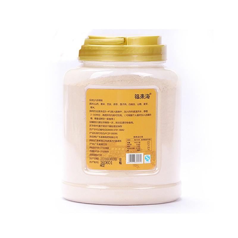 福东海 八珍糕粉 山药薏米芡实茯苓粉五谷杂粮代餐粉600g